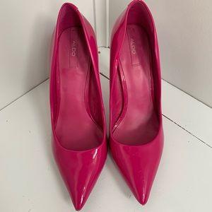 Hot Pink Aldo Heels